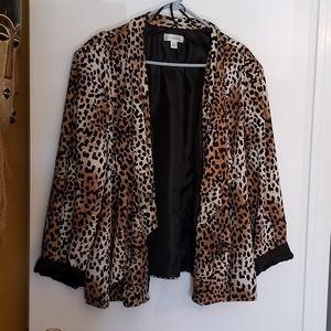 NWOT Leopard Jacket